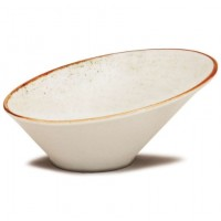 CORONA ARTISAN BOWL INCLINADO 790ML BLANC
